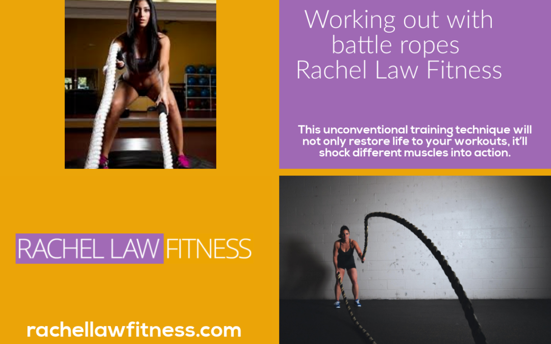 Come and try working out with battle ropes