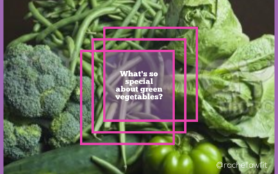 What's so Special about Green Vegetables?