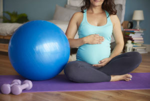 YOu can lift light weights when you are pregnant