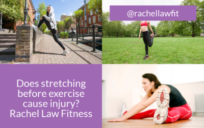 Does stretching before exercise cause injury